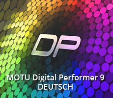 MOTU Digital Performer 9 Deutsch ...
